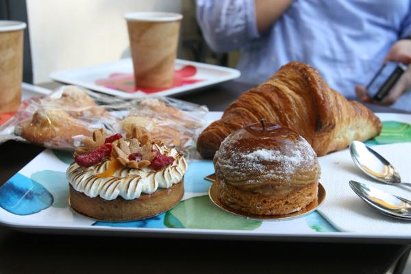 Blé Sucré pastries  in Paris on eatlivetravelwrite.com