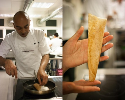 Making Dosas with Alfred Prasad