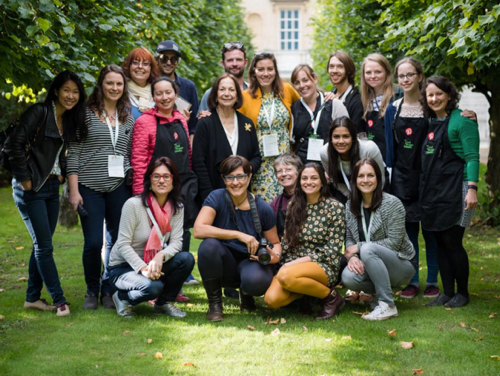 Food Blogger Connect, London 2015 (yes that's Claudia Rodin in the middle). Image credit: @bethanykehdy