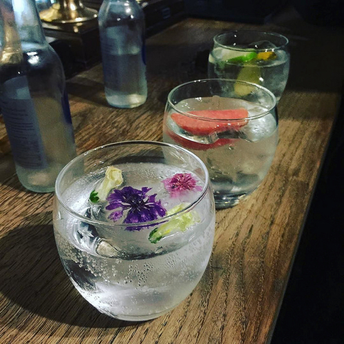 Gin and Tonics at the Pump House in Bristol