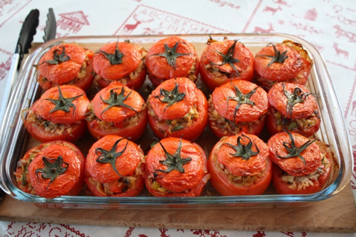 Tomates Farcies - French Stuffed Tomatoes