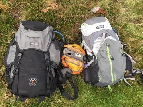 Backpacks for wild camping