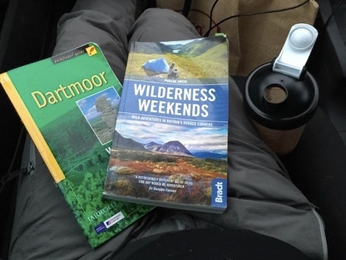 Dartmoor walking and wild camping books