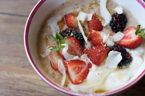 High Protein Bircher Muesli