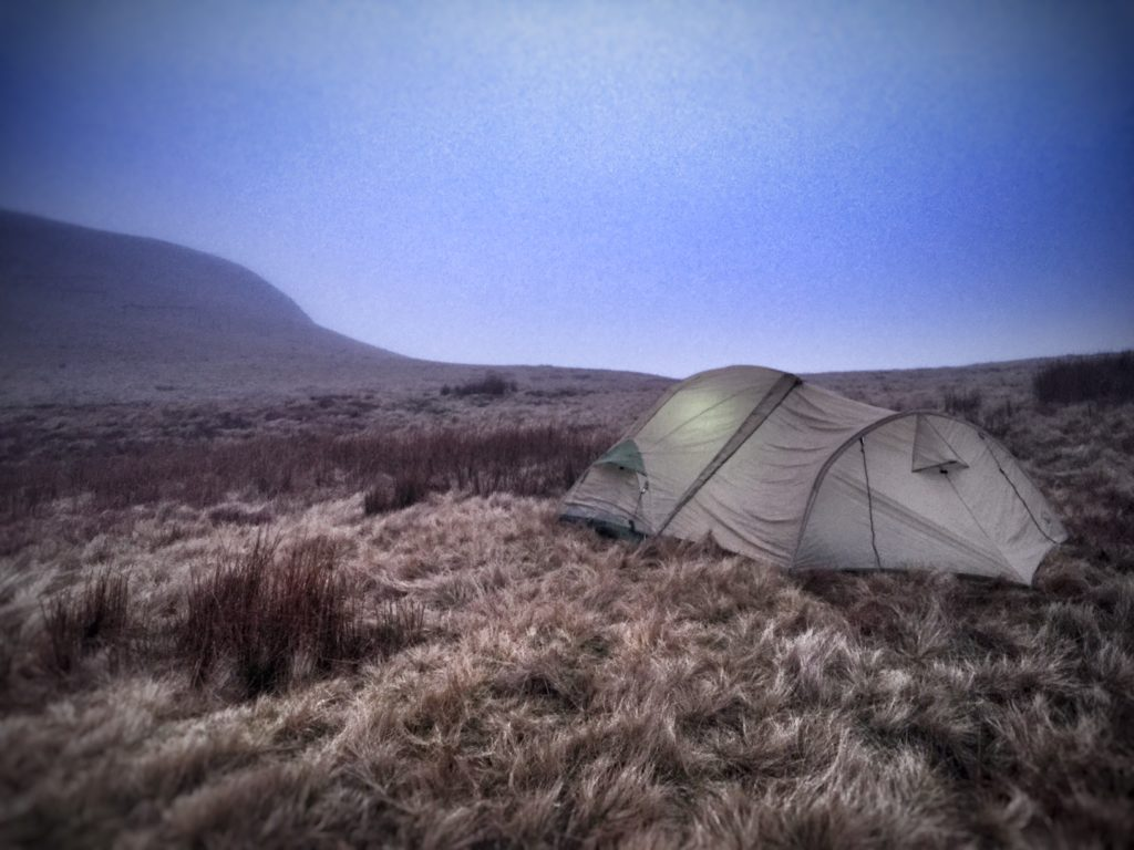 Black Mountain Wild Camping
