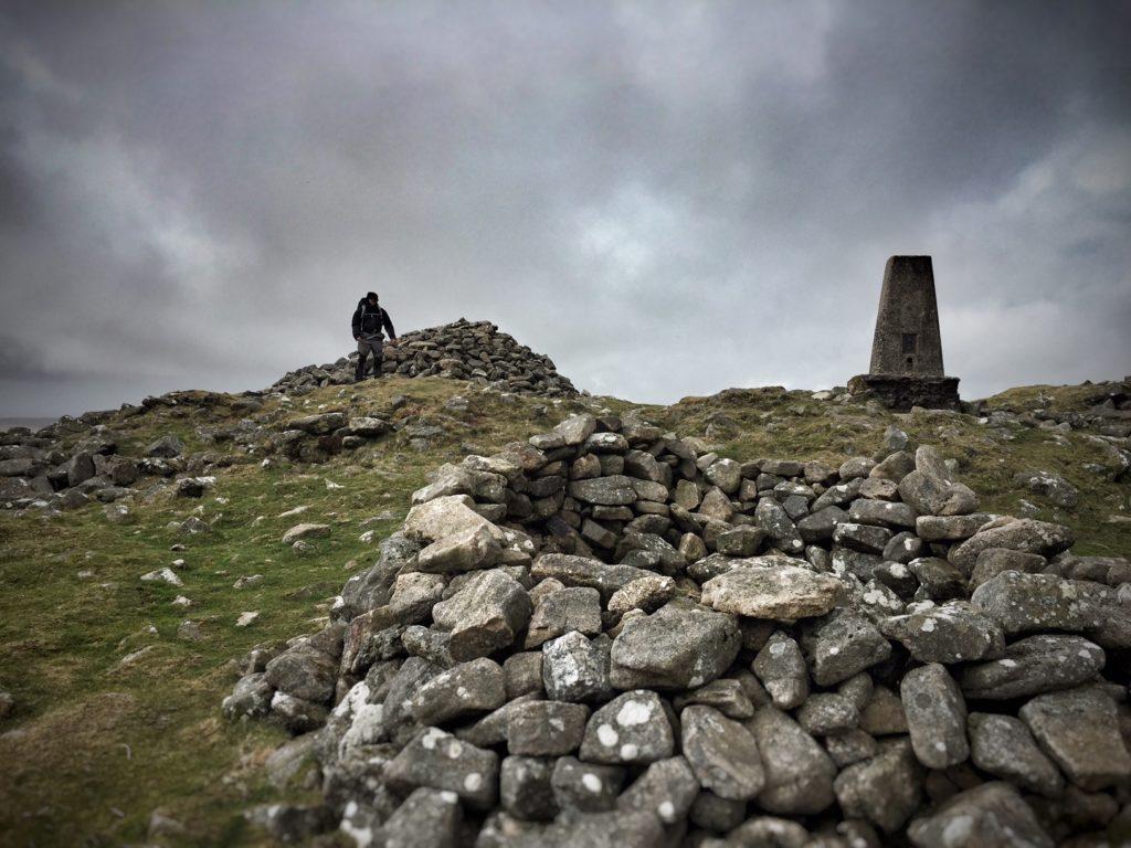 Dartmoor - Cosdon Hill Trig Point