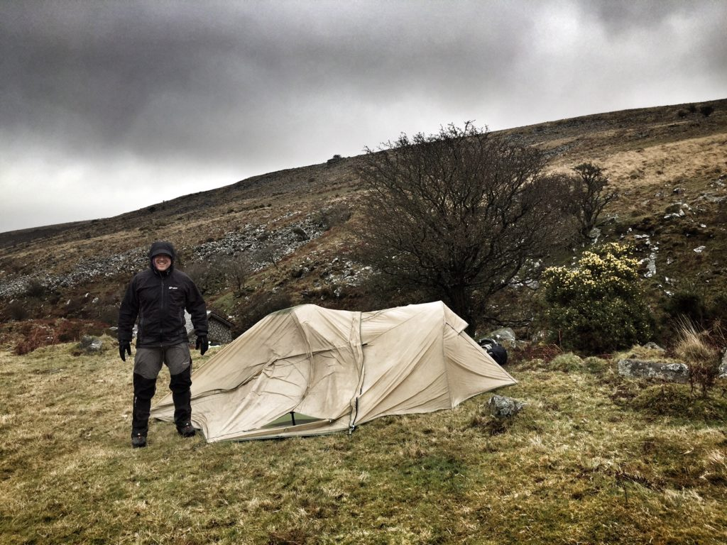 Dartmoor Windy Wild Camping
