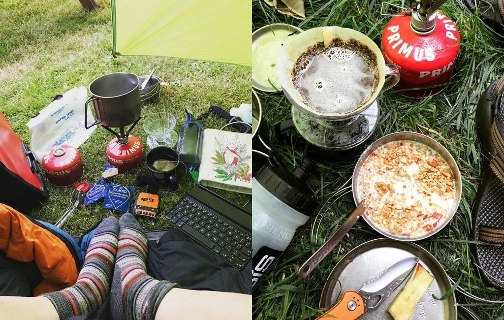 Cycle Touring in Wales - Camping Along The Way
