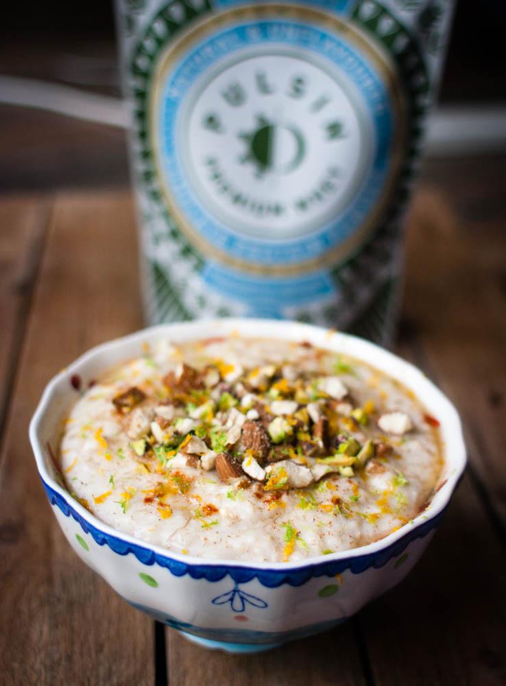 High Protein Porridge / Oatmeal
